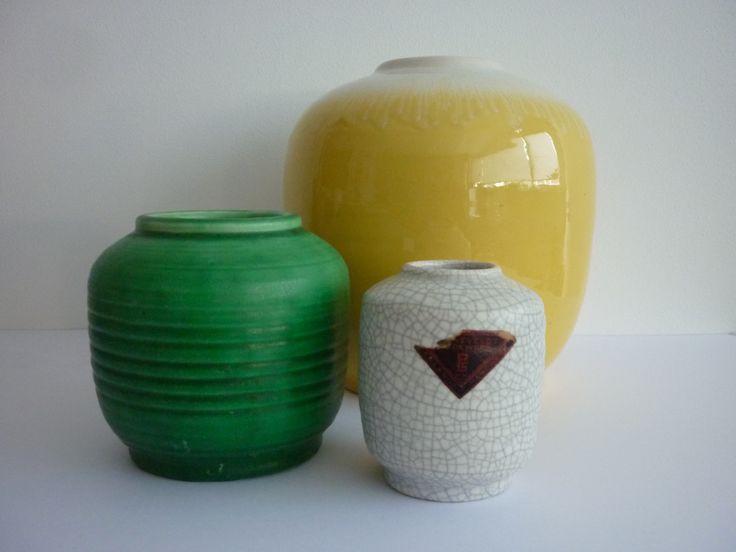 Vases 80 A, 80B & 80C. ± 1935