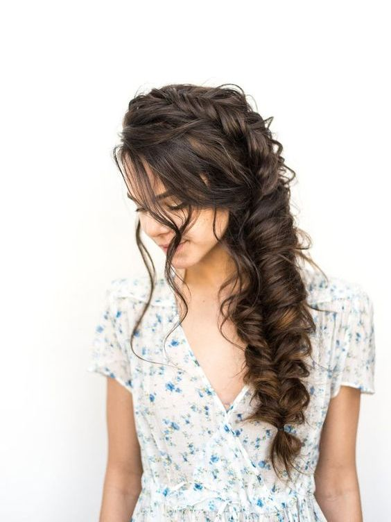 Inspirational Side Fishtail Braid hairstyles Ideas for Any Occasion