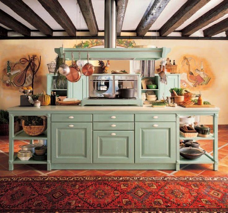 дневник дизайнера: Может ли быть классическая кухня зеленого цвета?