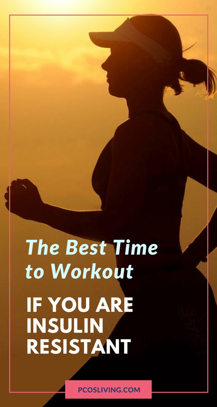 The best time to workout if you are insulin resistant // Best time to workout for PCOS // Best Time to Workout Pre-diabetic // Losing weight with PCOS // Losing weight and Insulin Resistance // PCOSLiving