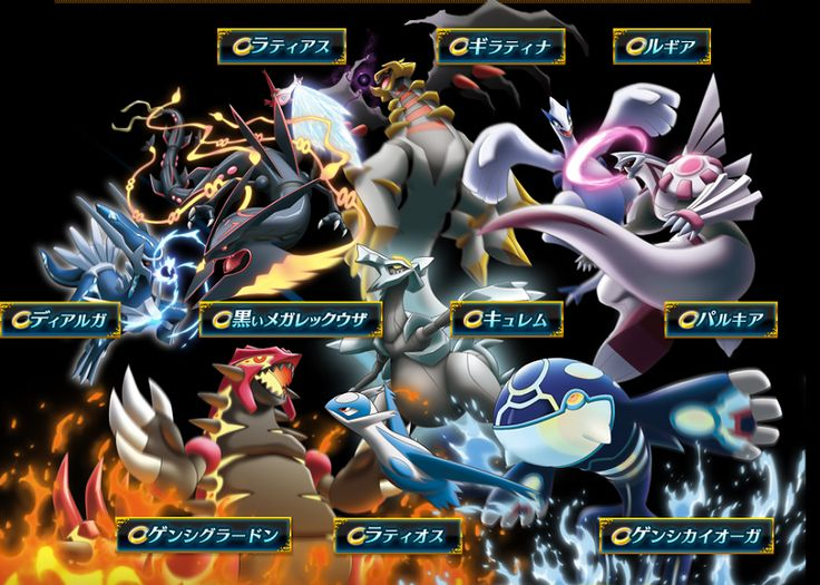 Anime Legendary Pokemon In An All Out Rumble In New