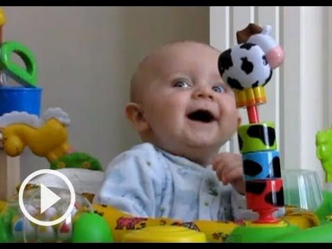 Laughing Babies To Lift Your Spirits [VIDEO]. I dare you NOT to laugh while watching this