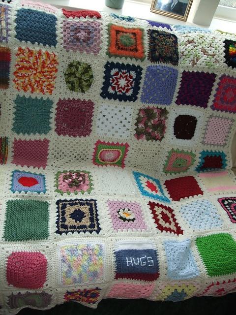 sampler squares: Patchwork Blankets