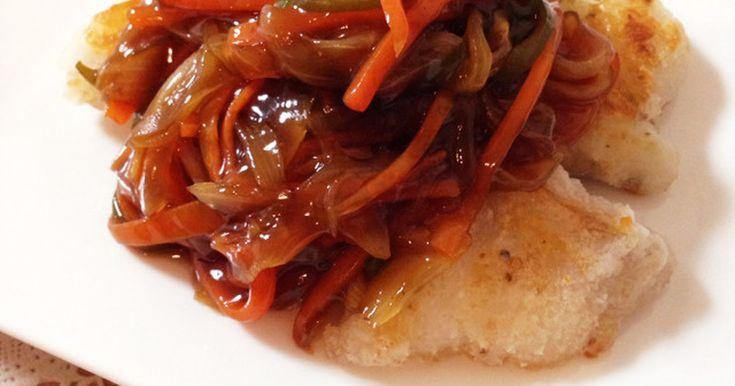 揚げずに簡単♡白身魚の甘酢あんかけ by あやぴよこ [クックパッド] 簡単おいしいみんなのレシピが242万品