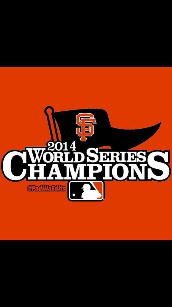 SF Giants World Champions 2014