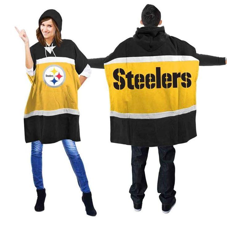 Pittsburgh Steelers Unisex Hoodie Poncho