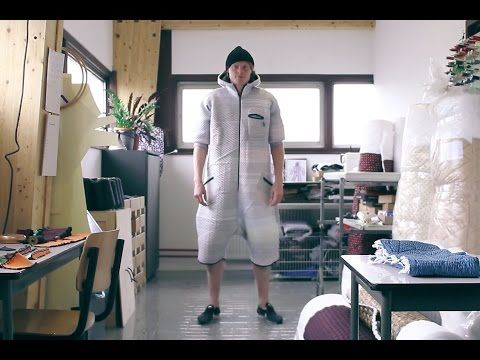 """▶ Borre Akkersdijk """"BB Suit"""" Allows You to Become Technology – YouTube"""