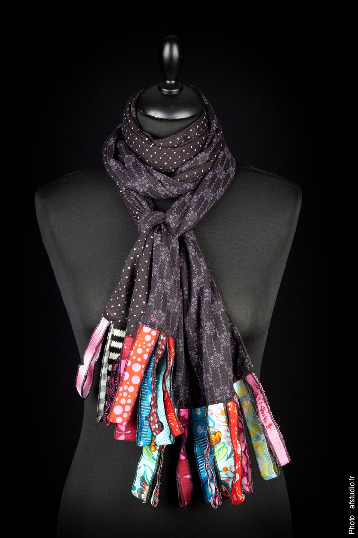 Love these scarves from Bijoux Piti