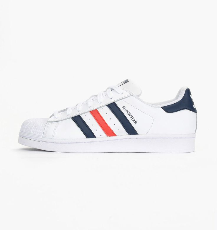 Adidas Originals Men Shoes Superstar Foundation Sneakers S79208 Leather