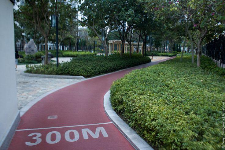 Картинки по запросу беговая дорожка в парке