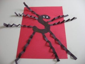 Letter activity for Halloween! Spider S!