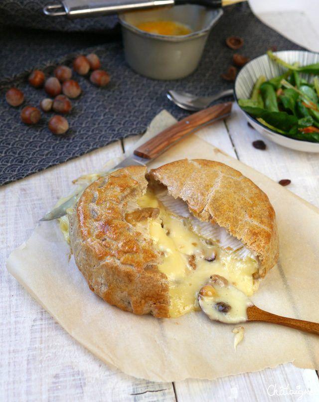 Camembert en croûte de sarrasin - Blog de Châtaigne
