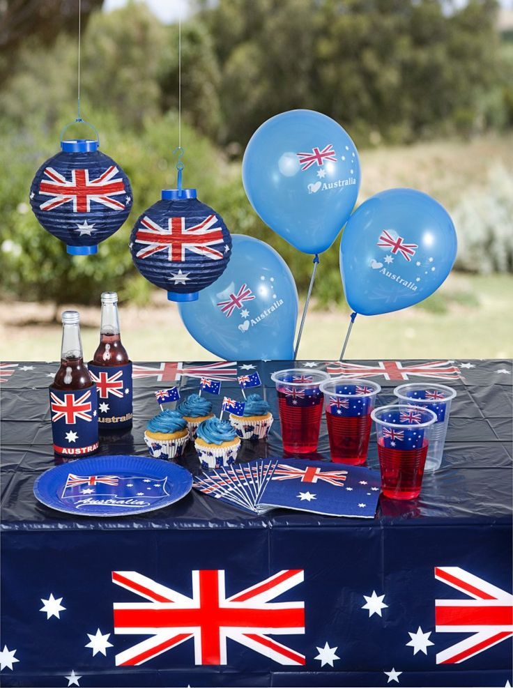 Australia Day parties complete with all the accessories from The Reject Shop, prices start as low as $2 each. #getsavvy