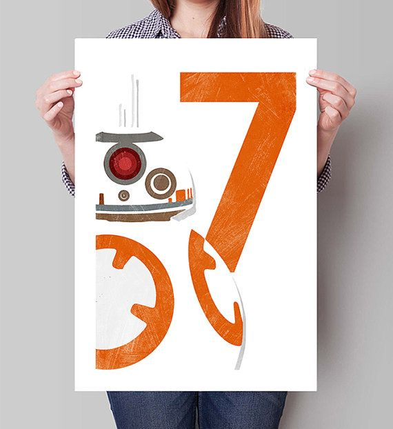 STAR WARS The Force Awakens Inspired BB-8 by GreaterGeek on Etsy