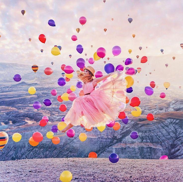 Kristina Makeeva und weit mehr als 99 Luftballons