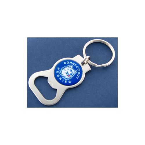 University of Connecticut Bottle Opener Keychain