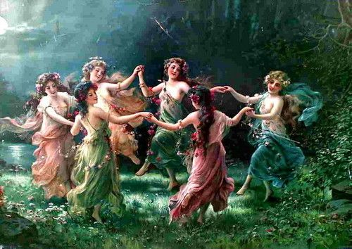 A merry dance....