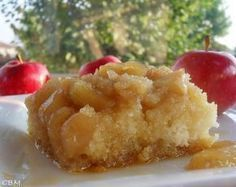 Gâteau renversé au sirop d'érable et aux pommes