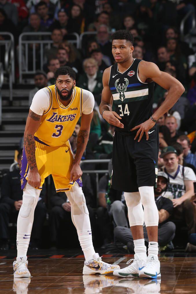 View Photos For Photo Recap Bucks 111 Lakers 104 12 19 19 Nba Players Basketball Highlights Nba Basketball Art