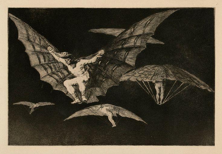 Goya, Francisco: Modo De Volar (Tapa lentää)