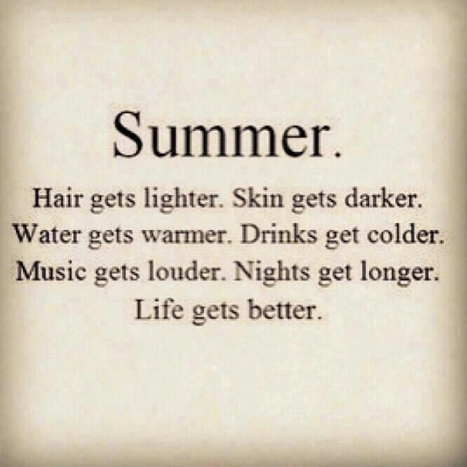 Summer at the beach!!