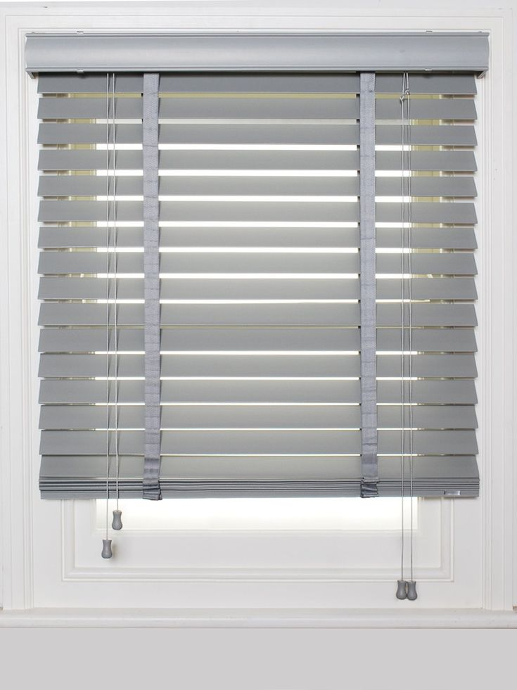 ESTATE_GREY_WOOD_VENETIAN | Curtains with blinds, Kitchen