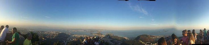 Panorámica de Rio se Janeiro