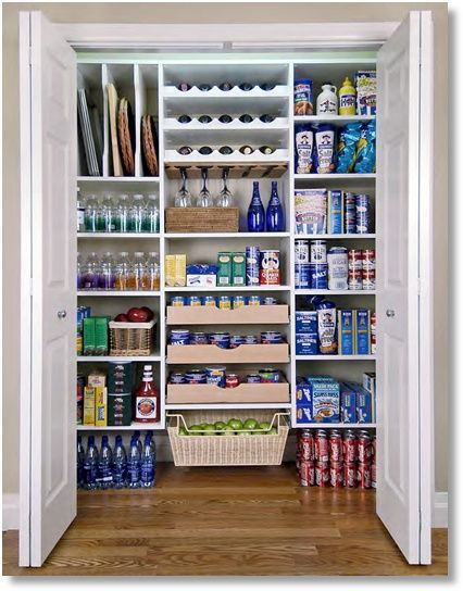 remember tray rack for pantry.  organized-pantries