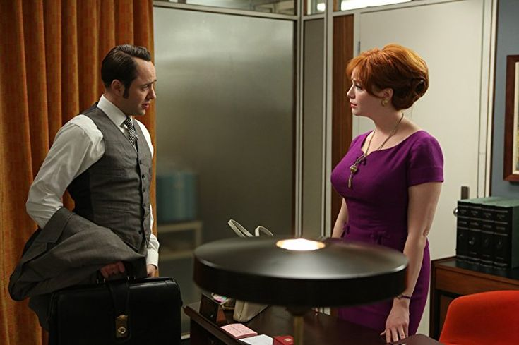 Christina Hendricks and Vincent Kartheiser in Mad Men (2007)