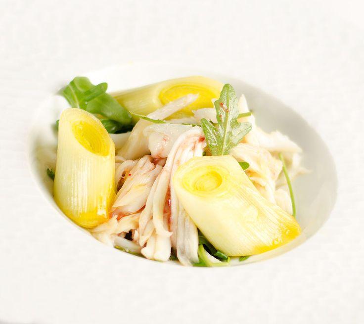 Raie en salade et poireaux tièdes à l'orange via http://cuisiner.avecnico.com