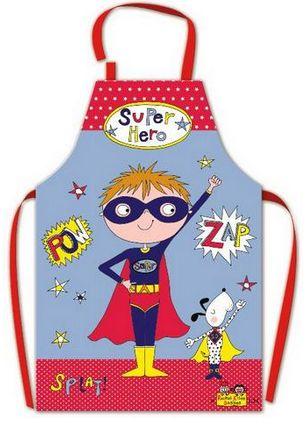 REG AP4 Apron Super Hero