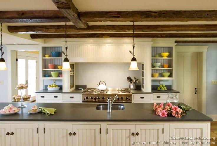 Traditional White Kitchen Cabinets 05. Traditional White Kitchens > Kitchen 119