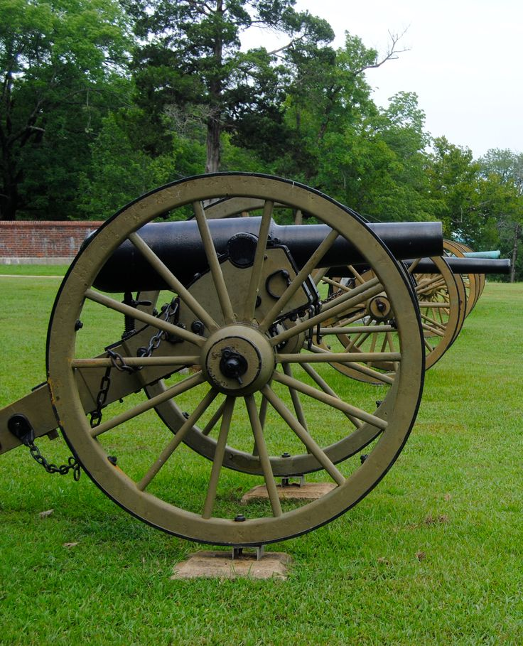 Scene at Shiloh National Battlefield.