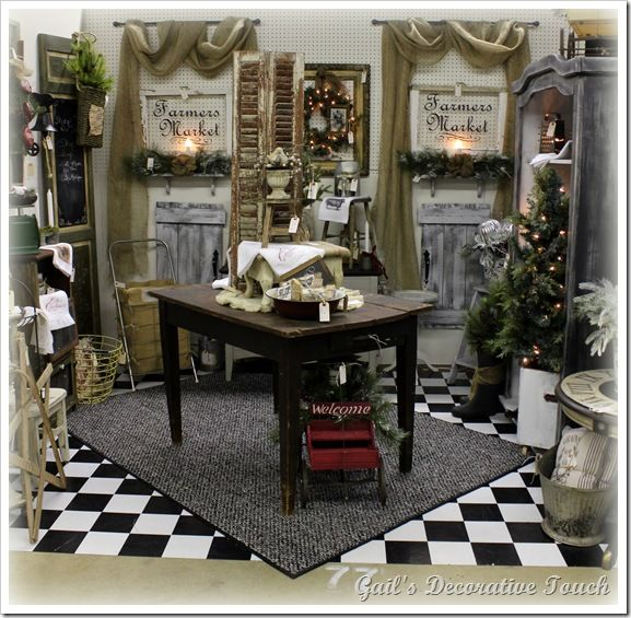 Display Ideas Re: 25+ Best Ideas About Antique Mall Booth On Pinterest