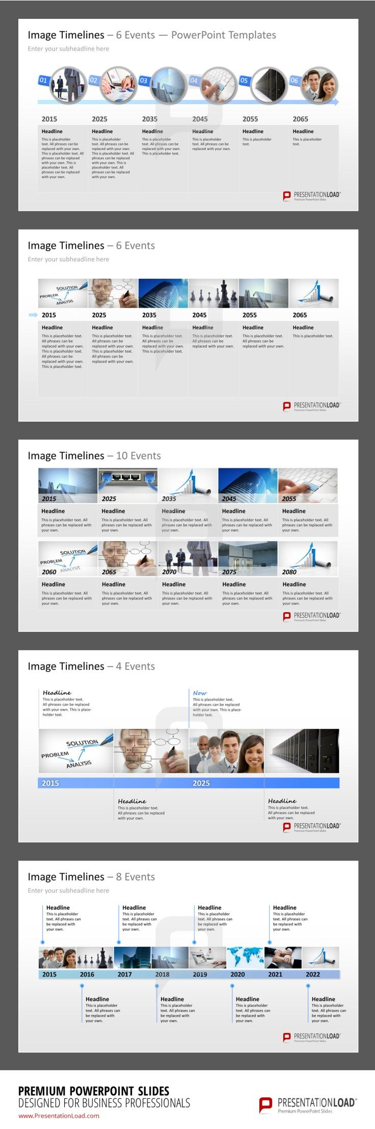 Image Timeline PowerPoint Template #presentationload http://www.presentationload.com/powerpoint-image-timelines.html