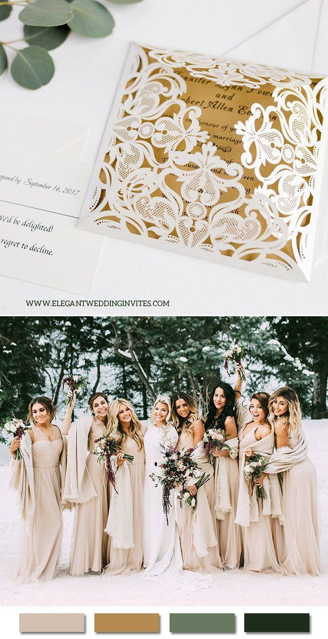 elegant wedding invitations inspired by real weddings