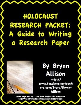 Can you give me a good research paper topic centering around the Holocaust and World War II?