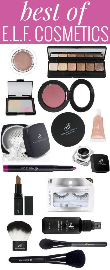 Love cheap makeup? Want high quality products? Get your hands on the best E.L.F. products!