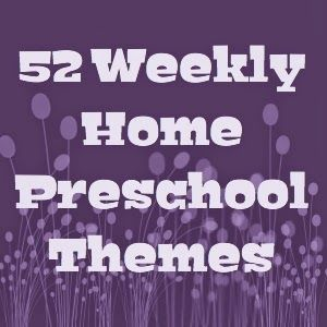 Cutting Tiny Bites: 52 Weekly Home Preschool Themes (+3 extra)