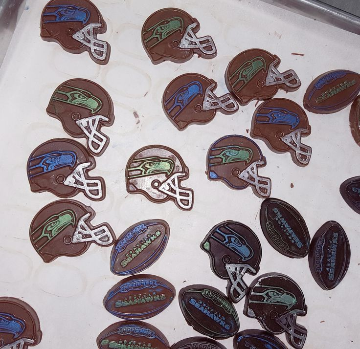 Seattle Seahawks chocolates!