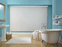 Privacy and energy-efficient vinyl blinds are awesome in humid or moist rooms of your home.   They are gorgeous, aren't they?!