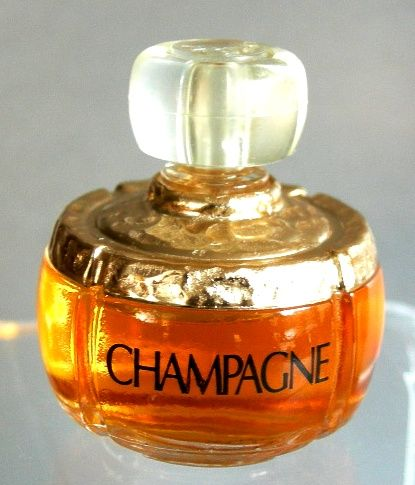 Celebrating women and women's fragrance with a vintage #YSL #Champagne mini at Miniature Perfume Shoppe.