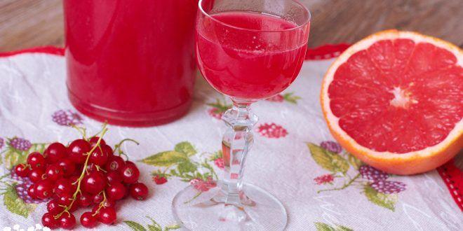 Domáci aperol - ríbezľovo-grepový likér - Tinkine recepty