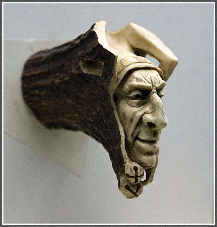 Best bone horn antler and skull carvings gallery