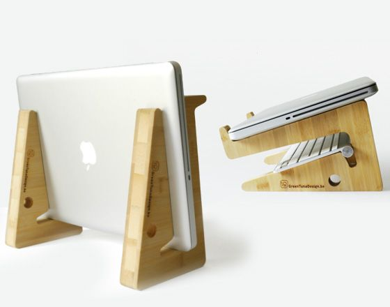 25 great ideas about diy laptop stand on pinterest. Black Bedroom Furniture Sets. Home Design Ideas
