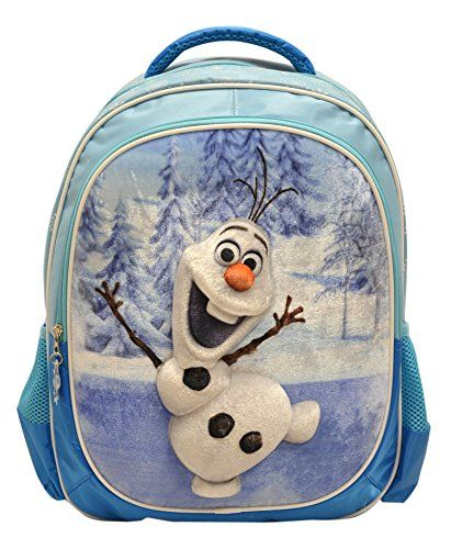 Cute Frozen backpack featuring everybody's favorite, Olaf!