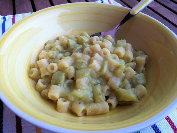 Ditalini con patate e zucchine