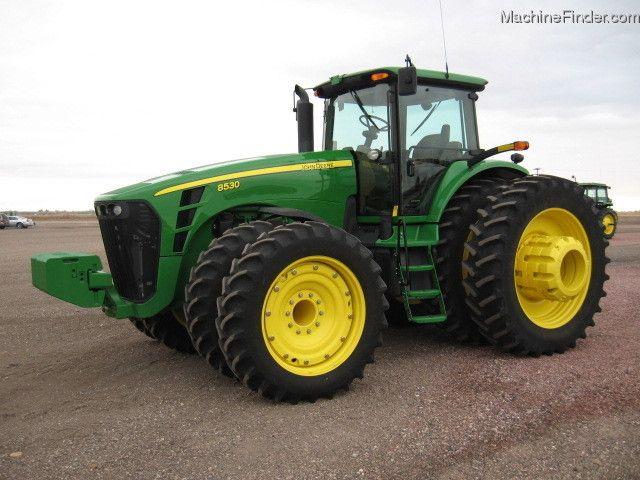 Avis 8530 de la marque John Deere - Tracteurs agricoles