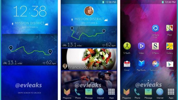 Samsung's Next-gen TouchWiz Smartphone Interface Leaks