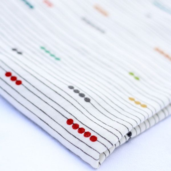 Organic Swaddle Blanket in Abacus - Narra Nest